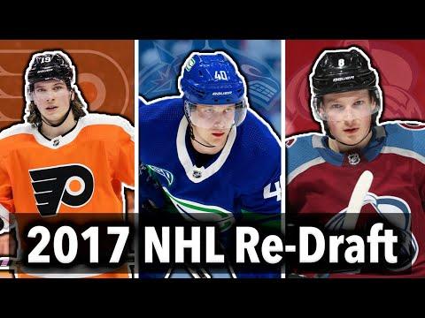 Re-Drafting The 2017 NHL Draft | Pettersson, Makar, Hischier, Suzuki...