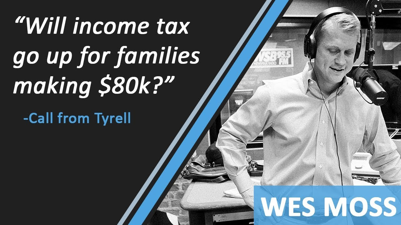 Will Income Tax Go Up For Families Making $80,000 Per Year?