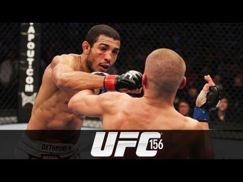 UFC 156: Jose Aldo Pre-fight Interview