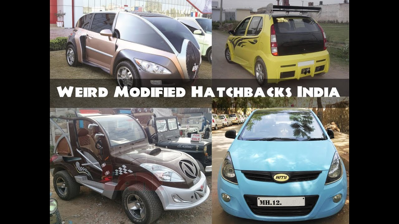 All Time Worst Modified Hatchback Cars in India - YouTube