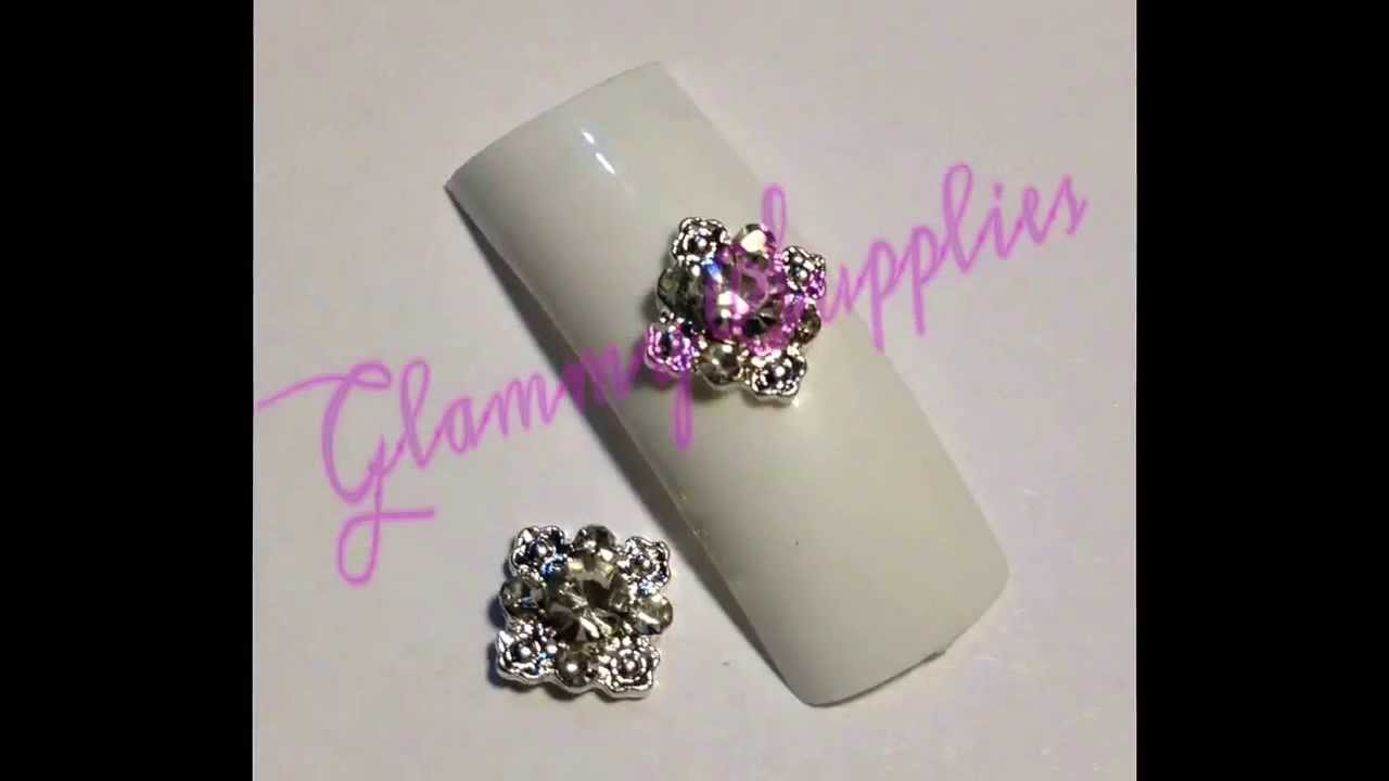 3d Nail Artcharms Youtube