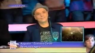 Tu cara me suena: emotivo homenaje de Augusto Schuster a Gustavo Cerati