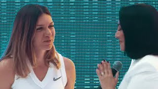 Andra - Imnul National @ Arena Nationala cu Simona Halep