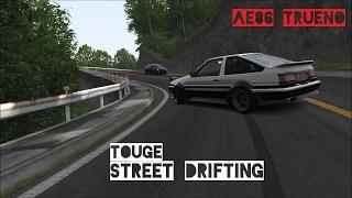 Toyota AE86 Trueno STREET DRIFTING in Traffic - Touge | Assetto Corsa Gameplay