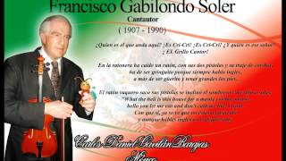 Cri Cri El Grillo Cantor