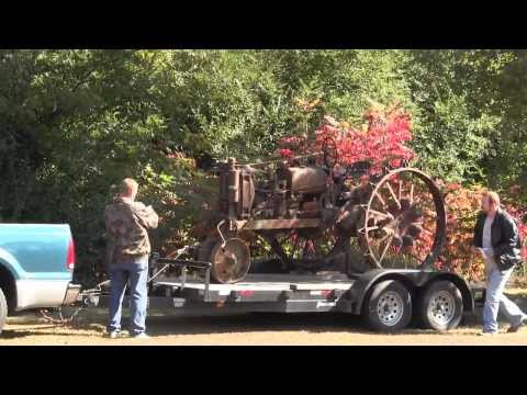 1927 Tractor Arriving Home to Fort Payne Alabama