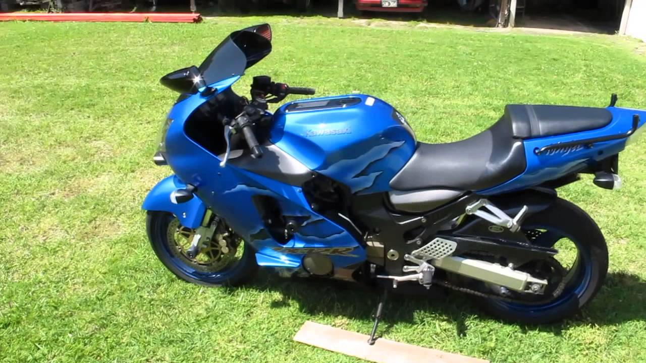 Zx12r 2001 With Pipewerx Carbon Exhaust  2  5