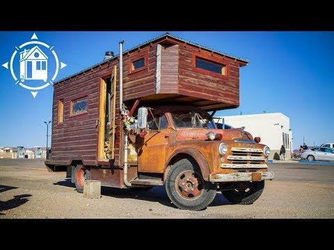 Wooden Caravan Handmade Camper Truck Doovi