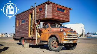 Ultimate House Truck Created From Recycled Materials By Nomad Artist