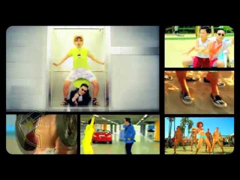PSY vs LMFAO - Everyday I'm Gangnam Style (FULL) [MUSIC VIDEO]