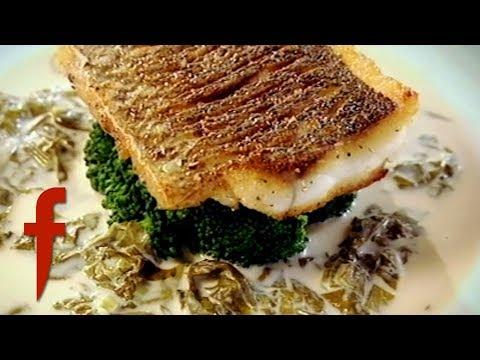 Gordon Ramsay's Sea Bass With Sorrel Sauce Recipe | The F Word