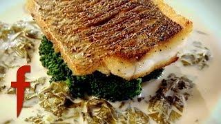 Gordon Ramsay&#39s Sea Bass With Sorrel Sauce Recipe  The F Word