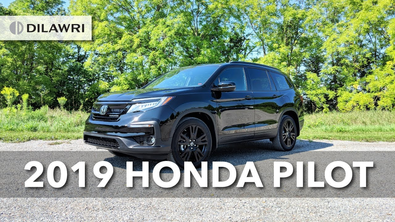 2019 Honda Pilot Black Edition Overview Youtube