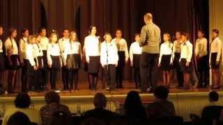 Festival horova Ruska pesma Beograd 2015   Skola V Siljegovac