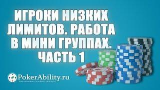 Покер обучение | Игроки низких лимитов. Работа в мини группах. Часть 1