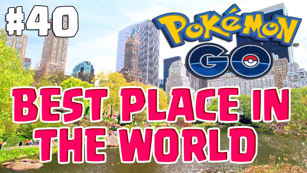 BEST PLACE IN THE WORLD TO CATCH EM ALL | Pokemon Go Adventures #40 New  York City