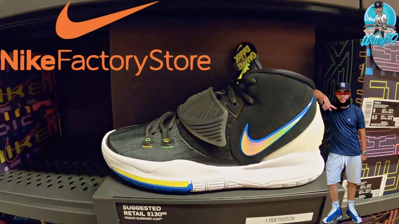 Experto raya Excelente  NIKE FACTORY OUTLET STORES IN NEW JERSEY GOT HEAT!!! | 30% OFF CLEARANCE  SALE - YouTube