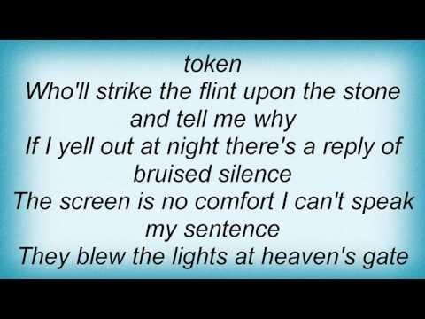 Midnight Oil - Blue Sky Mine Lyrics