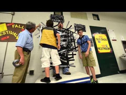 Oakwood Intermediate School Duct Tape Principal