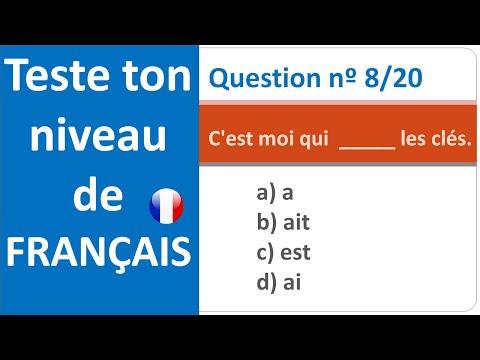 Test de français