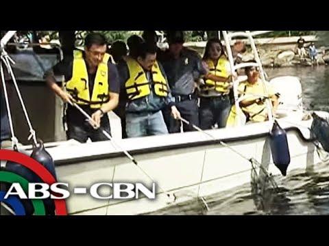 TV Patrol: Erap, nag-sorry sa 'gimik' na pagtapon ng basura para sa Manila Bay cleanup