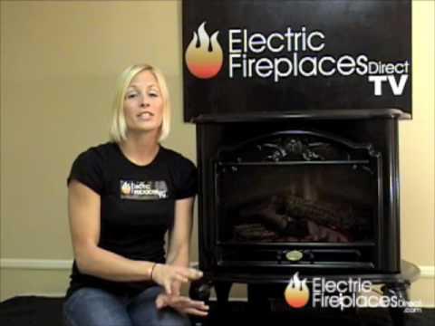 Dimplex Celeste Freestanding Electric Fireplace Stove - TDS8515TB ...