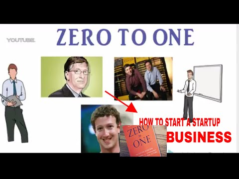 zero to one (book)   A STARTUP/BUSINESS ( part 1 )