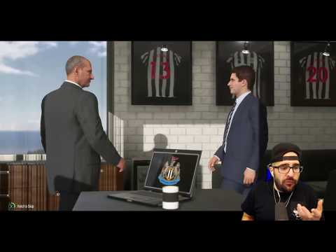 EPIC YOUNG STAR JOINS!  NEWCASTLE CAREER MODE FIFA 18 03