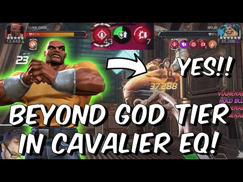 Luke Cage is now BEYOND GOD TIER in the Cavalier Event Quest!!! - Marvel Contest of Champions