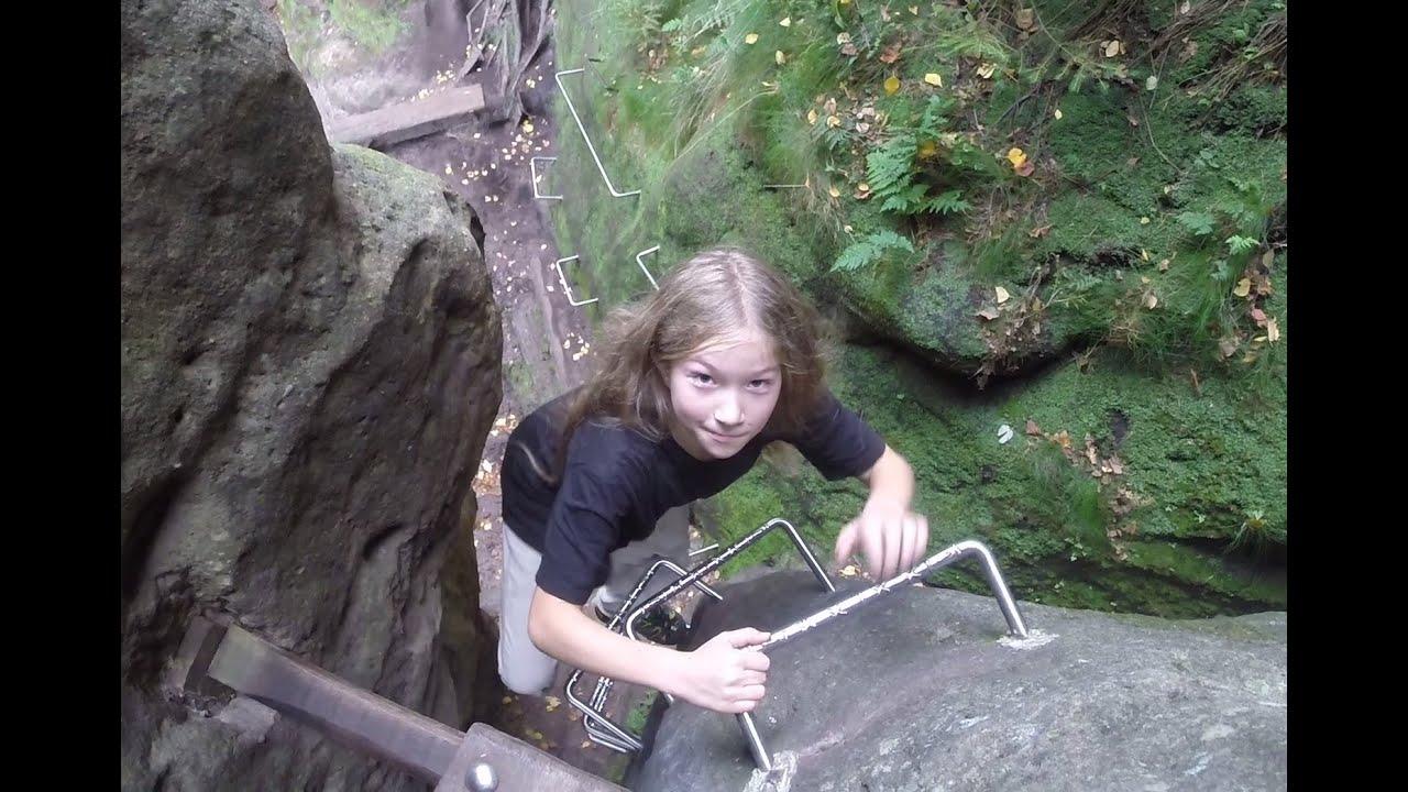 Klettersteig Sächsische Schweiz : Zwillingsstiege klettersteig sächsische schweiz youtube