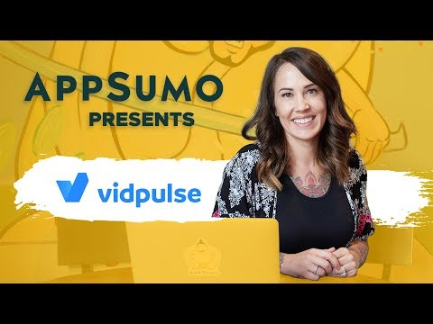 AppSumo presents: Vidpulse – Video Analytics Software