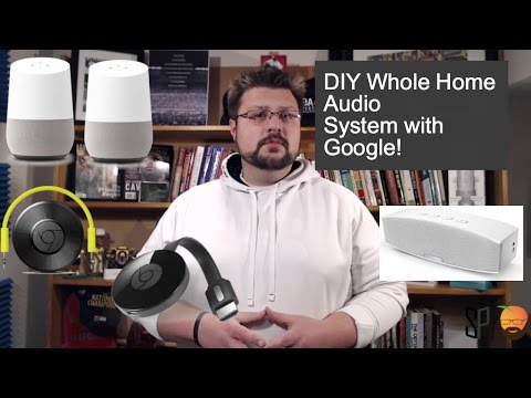 DIY Whole House Audio System on a budget with Google!