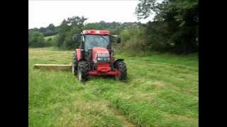 Mowing with Vicon cm 2200