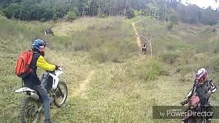 Tombo feio na trilha /trilha de moto /crf 230