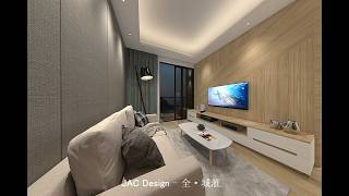 Jac Design Studio|全 · 城滙 3D設計示範|Vray效果圖