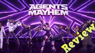 Agents Of Mayhem Review (Xbox One)