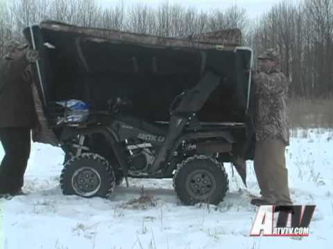 ATV Television - Arctic Cat Rapid Blind System