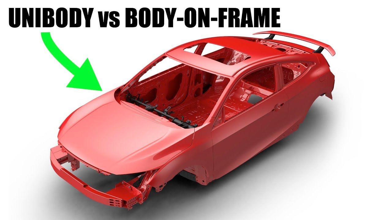 hight resolution of unibody vs body on frame which is best