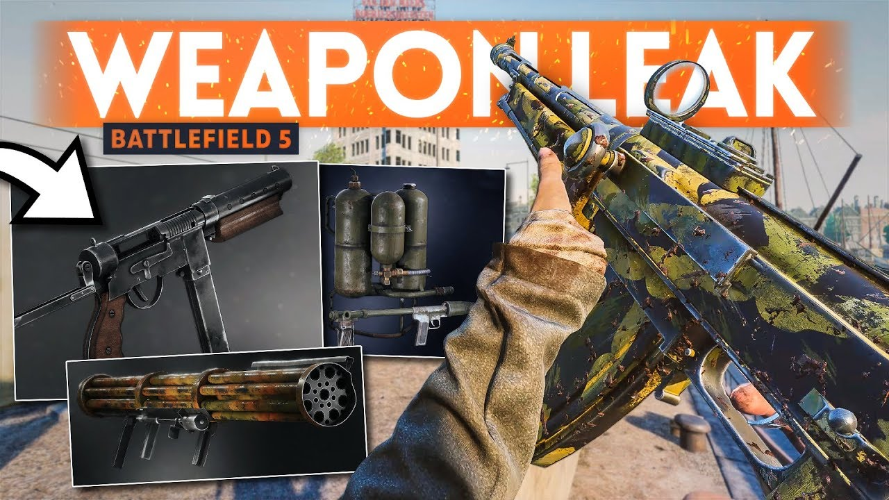 DICE LEAKED 6 New Weapons 🙈 Battlefield 5 thumbnail