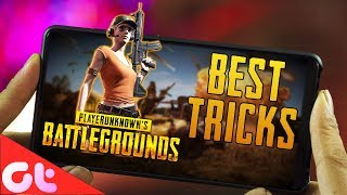 10 Best Tricks For PUBG ANDROID to SURVIVE and WIN
