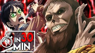 ATTACK ON TITAN 'STAFFEL 3' IN 30 MINUTEN
