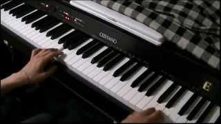 青鬼のBGMを電子ピアノで再現してみた。