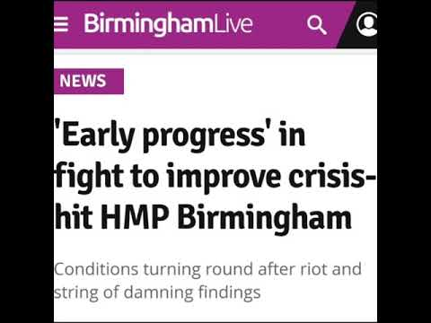 'Early progress' in fight to improve crisis-hit HMP Birmingham