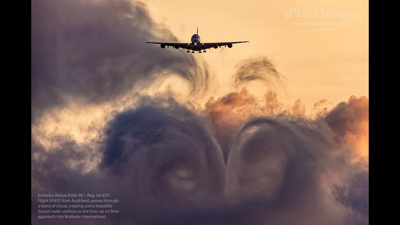 wake turbulence vortices Vortices produced by small aircraft are almost negligible, but vortices created by larger and heavier aircraft can be extremely dangerous for a distance of many miles to a trailing aircraft wake vortex and turbulence generated by large aircraft can cause instability, uncontrollable rolls, and sudden loss of altitude.