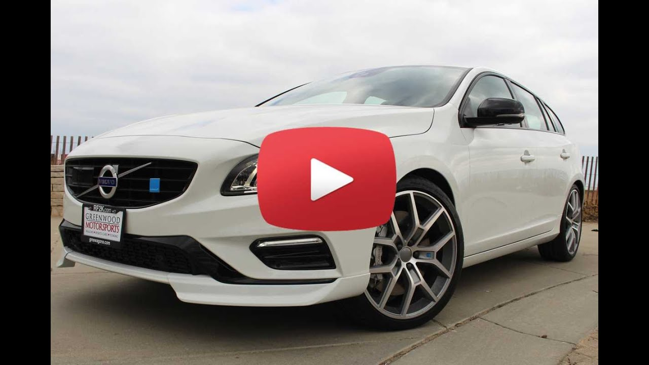 2016 volvo v60 polestar all around all star chicago for Star motor cars volvo