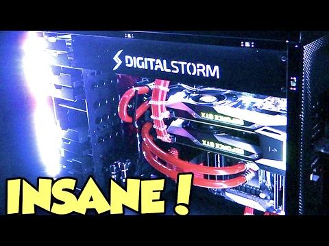 INSANE GAMING PC - MY NEW 2017 ULTIMATE GAMING SETUP