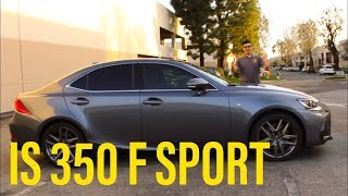 Lexus IS 350 F Sport Car Review | Will this be outsold by the Lexus UX?