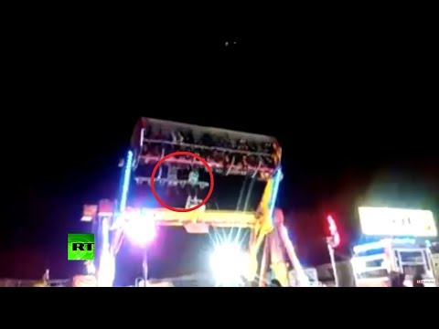 GRAPHIC: Woman falls to death from rollercoaster in Mexico