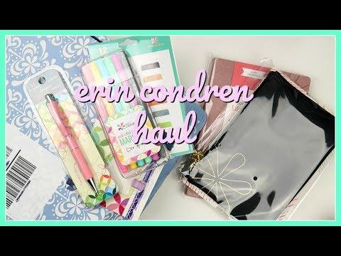 Erin Condren Haul | New Planner & Accessories!