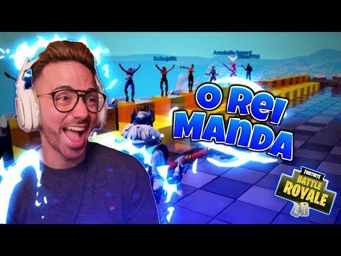 FORTNITE O REI MANDA #3 CHANCE DE VIVER !